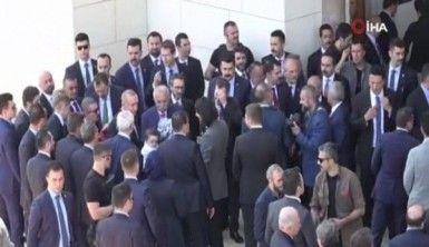 Cumhurbaşkanı Erdoğan açılışı yapılacak Büyük Çamlıca Camii'ne geldi
