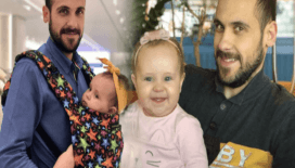 Ümit Erdim'in kızı Ses 1 yaşında