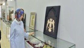 Ayşe Güzeloğlu, olgunlaşma enstitüsü'nün yılsonu sergisini gezdi