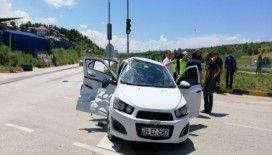 İtfaiye ile otomobil çarpıştı: 4 Yaralı