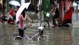 Çin'de sel 2 milyon kişiyi etkiledi: 7 ölü