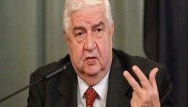 Suriye Dışişleri Bakanı Muallim: 'Türkiye ordusu ile çatışmak istemiyoruz'