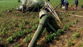 Rusya'da helikopter düştü, pilot öldü