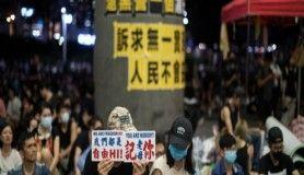 Hong Kong'da göstericiler G20 liderlerinden harekete geçmelerini istedi