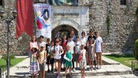 Kuşadası'ndaki Da Vinci Sergisi'nin minik ziyaretçileri