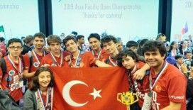 Türk öğrencilerden gururlandıran ödül