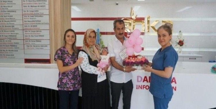 20 yıllık bebek hayali Anka'da gerçek oldu