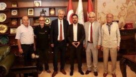 CHP milletvekili Sarıaslan, Belediye Başkanı Arı'yı ziyaret etti