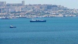 İran'a ait yük gemisi battı