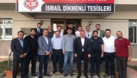 Aydın'dan Kastamonuspor 1966 yönetimine ziyaret
