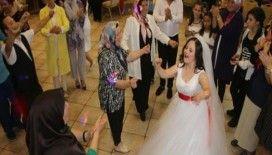 Down sendromlu Şehima'nın gelinlik hayali gerçek oldu