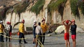 Kaliforniya'da uçurum çöktü: 3 ölü