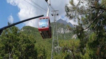 Antalya'da bulutların üzerine yolculuk