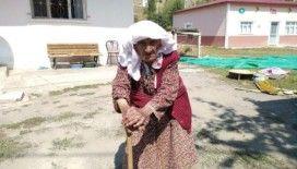 105 yaşında bastonuyla halay çeken Sabayi nine konuştu