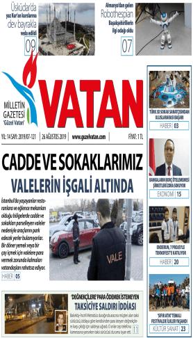 Güzel Vatan Gazetesi Sayı:120