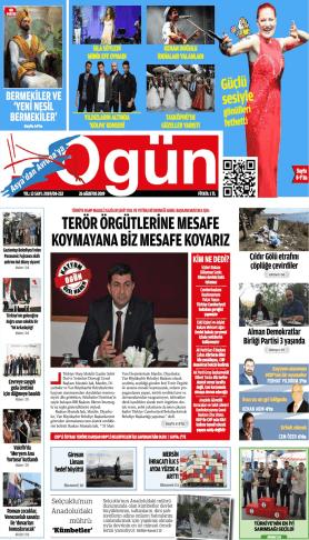 OGÜN Gazetesi Sayı:233