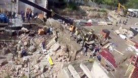 Rusya'da inşaat çöktü: 2 ölü