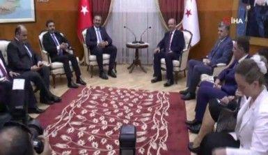 Adalet Bakanı Gül, Başbakan Tatar ile görüştü