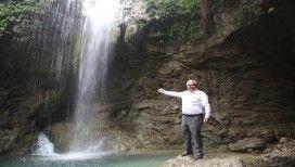 Mersin'de 'Saklı Şelale' turizme kazandırılıyor