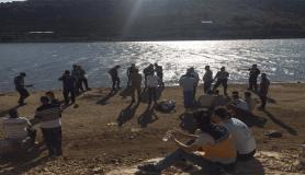Dedesi ile balık tutmaya giden Suriyeli çocuk barajda boğuldu
