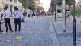 Ürdün'de tüp patladı, restoran çöktü