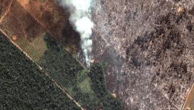 Amazonlar'da yangınlar devam ediyor