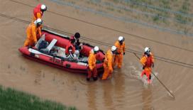 Japonya'da sel felaketinde ölü sayısı 3'e yükseldi