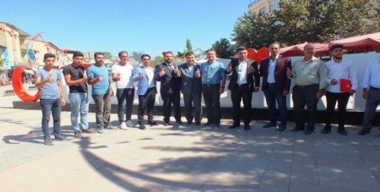 Yeniden Refah Partisi Malazgirt İlçe Başkanı Bayram Kartal oldu