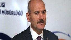 Bakan Soylu, BM Mülteci Yüksek Komiseri Grandi'yi kabul etti