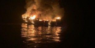 Kaliforniya'daki tekne kazasında 25 kişinin cesedi bulundu