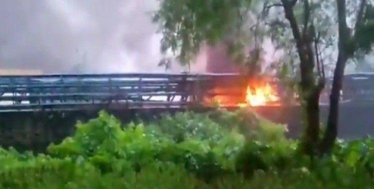 Hindistan'da akaryakıt tesisinde patlama: 4 ölü, 8 yaralı