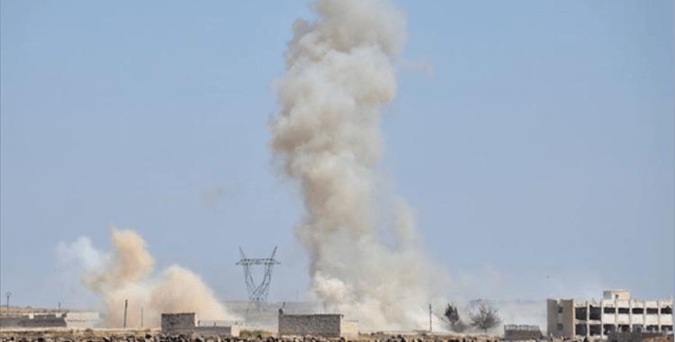 Terör örgütü YPG/PKK yine Azez'e saldırdı