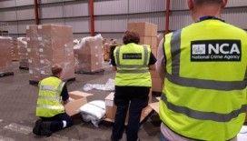 İngiltere'de rekor uyuşturucu vurgunu