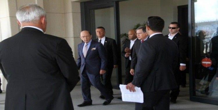 ABD Ticaret Bakanı Wilbur Ross Türkiye'de