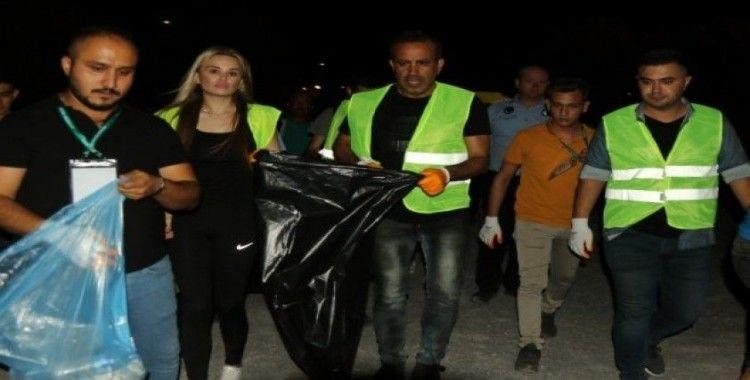 Haluk Levent'ten konser sonrası temizlik