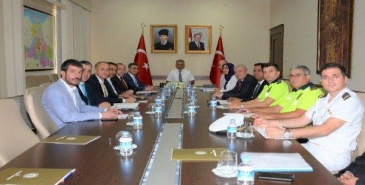 Eğitim yılı güvenlik toplantısı yapıldı