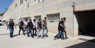 Elazığ'da FETÖ'den gözaltına alınan 4 şüpheli adliyeye sevk edildi