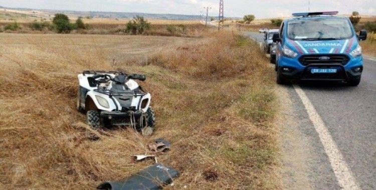Tamire götürdüğü ATV'nin altında kalarak hayatını kaybetti