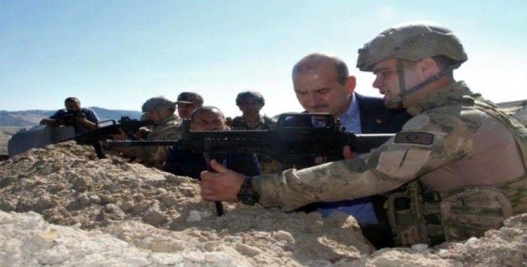 """Aliboğazı'nda konuşan Bakan Soylu: """"Kalan teröristlerin tamamı tasfiye edilecektir"""""""
