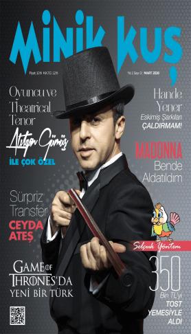 MinikKuş Magazin - Mart 2016