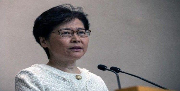 """Hong Kong Lideri Lam: """"Şiddetin tırmanması sorunları çözmez"""""""