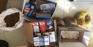 Bozüyük'te kaçak tütün operasyonu