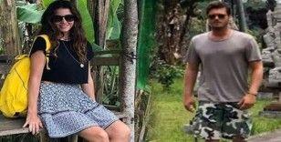 Kıvanç Tatlıtuğ ve Başak Dizer Bali'de aşk tazeledi