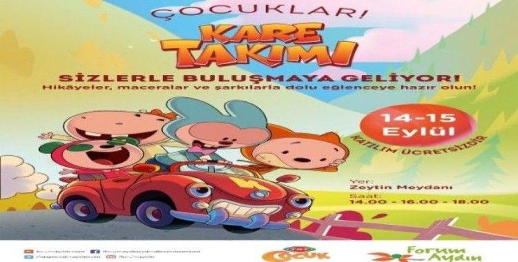 Kare Takımı, Forum Aydın'a geliyor