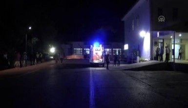 İçişleri Bakanı Soylu, terör saldırısında yaralanan vatandaşları ziyaret etti.