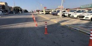 Alaplı'da trafik sorununa dubalı çözüm