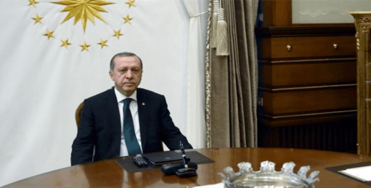 Cumhurbaşkanı Erdoğan milli sporcuları kabul etti