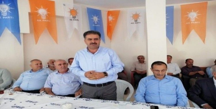 "Milletvekili Fırat: ""AK Parti mevki makam yeri değildir"""