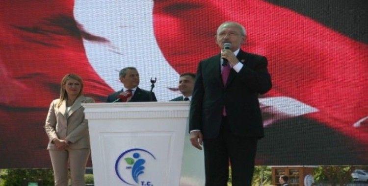 CHP Genel Başkanı Kemal Kılıçdaroğlu Denizli'de