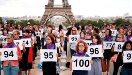 Fransa'da 105'inci kadın cinayeti